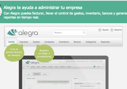 Alegra: Software contable y de facturación para PyMes 1