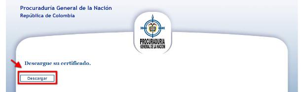 Descargar certificado de antecedentes