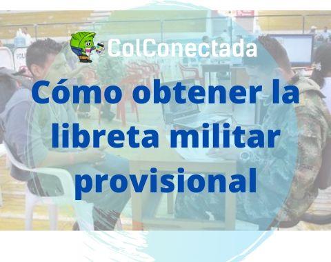 libreta militar provisional