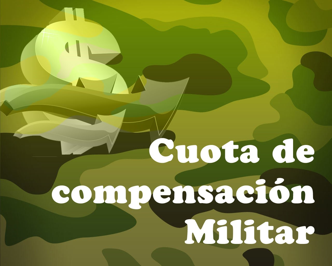 Cómo liquidar la cuota de compensación militar