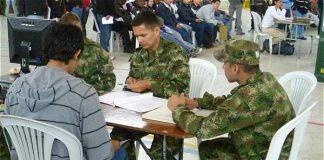 Definición de la situación militar de exentos al servicio militar