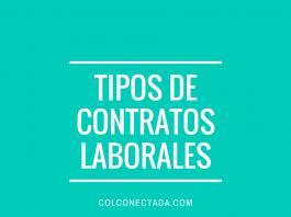 Tipos de contratos laboralesTipos de contratos laborales