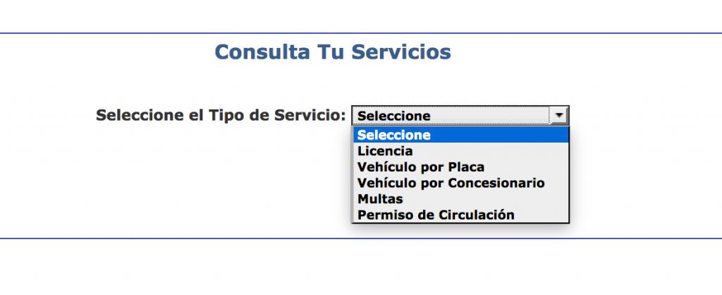 Consultar multas en el INTT