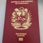 Portada pasaporte venezolano