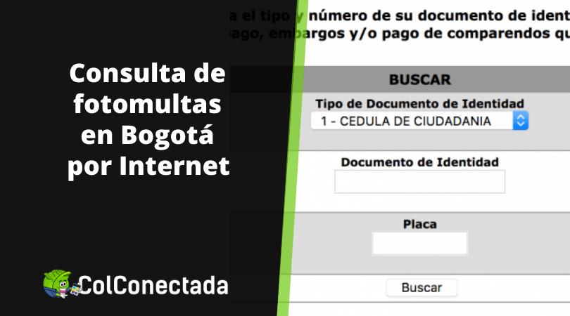 Consulta de fotomultas en SIM Bogotá 5