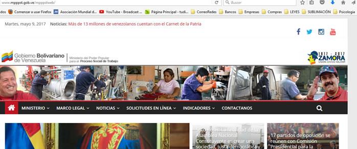Ministerio del Poder Popular para el Proceso Social de Trabajo