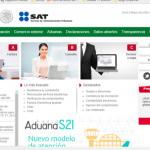 Sitio web del SAT