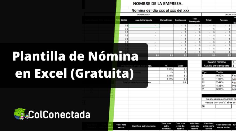 Cómo hacer una nómina en Excel y aspectos a tener en cuenta 1