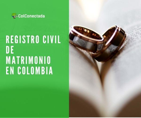 registro civil de matrimonio