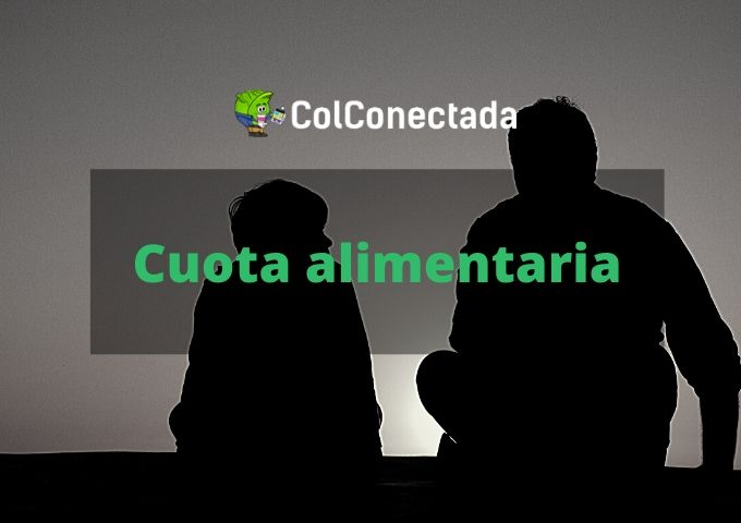 Cuota alimentaria en Colombia