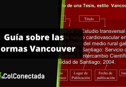 Normas Vancouver para la presentación de documentos