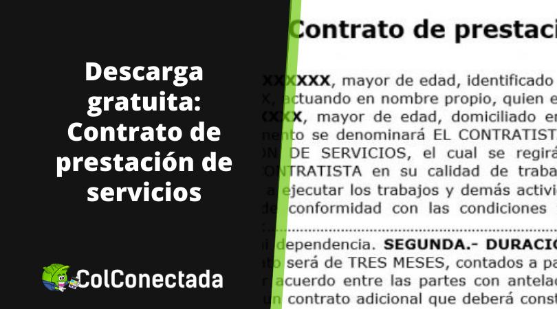 Contrato de prestación de servicios 21