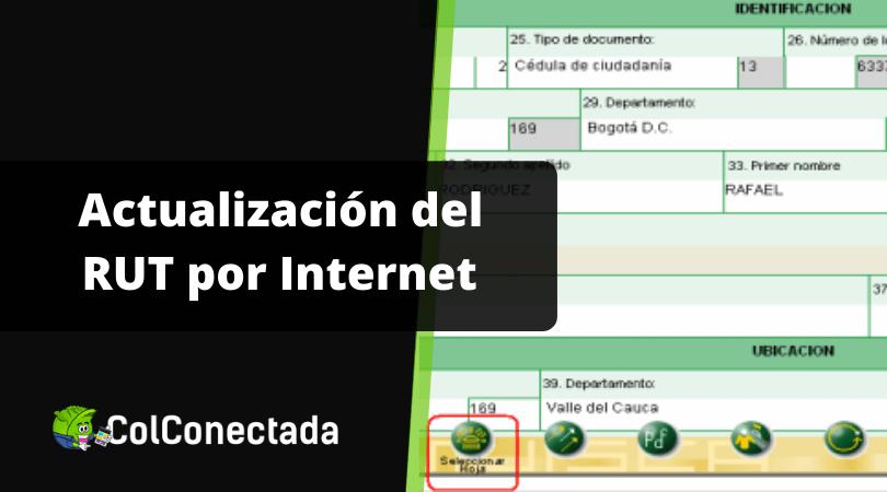 Cómo actualizar el RUT por Internet 4