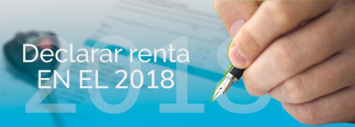 Declaracion de renta 2018