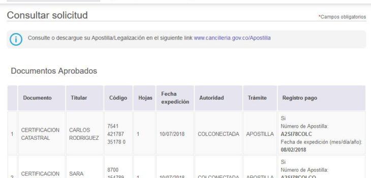 Cómo apostillar y legalizar documentos por Internet 1