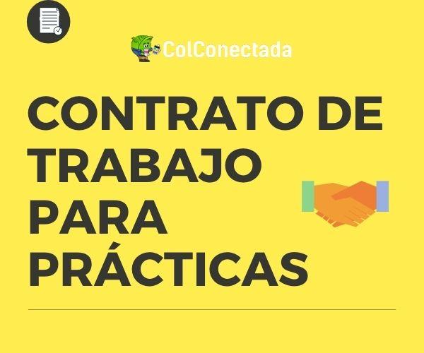 contrato de trabajo en practicas