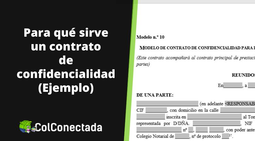 Modelo de contrato de confidencialidad 18