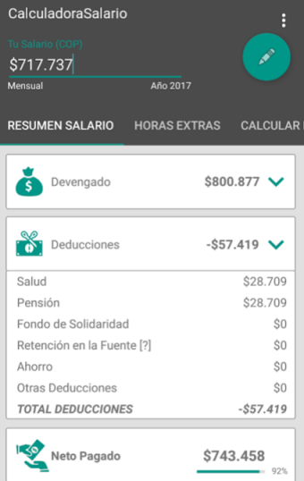 Calculadora Salarial Colombia