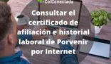 Porvenir: Certificado de afiliación e historial laboral