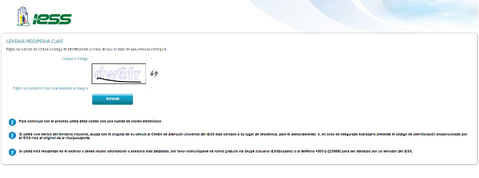 Consulta Historia Laboral IESS