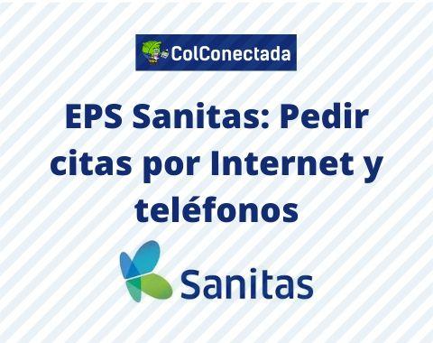 Pedir cita por internet EPS Sanitas