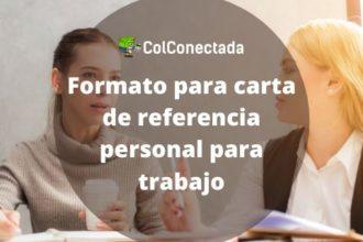 Modelo de referencia personal para trabajo