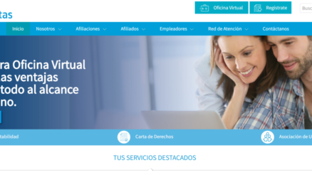 Pedir cita por internet EPS Sanitas