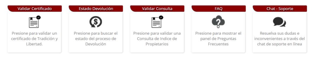 VUR o Ventanilla Única de Registro Inmobiliario
