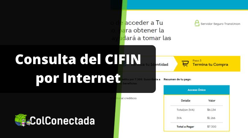 ¿Se puede Consultar CIFIN por Internet? 12