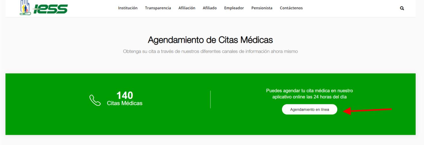 Agendar cita medica por internet en el IESS