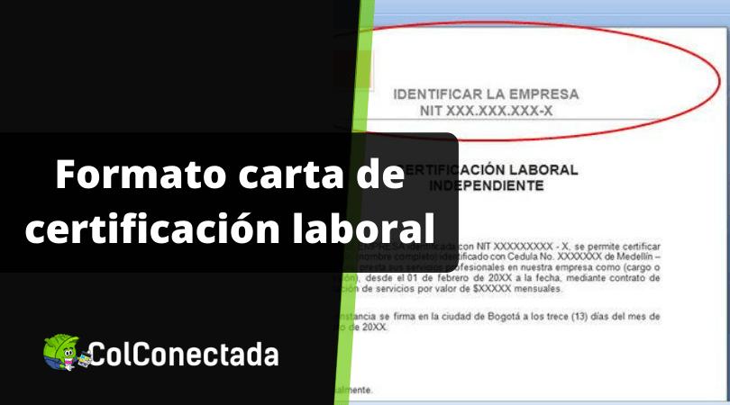 Carta de certificación laboral 7