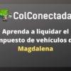 Impuesto vehículos en Magdalena