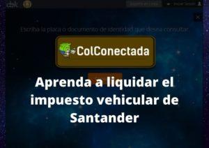 Impuesto vehículos en Santander 2