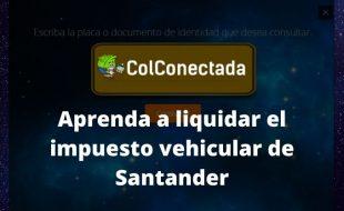 Impuesto vehículos en Santander