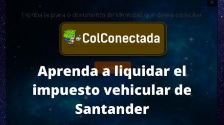 Impuesto vehículos en Santander 2020 1
