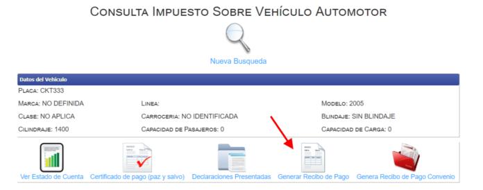 Impuesto de vehículos en Córdoba 2019