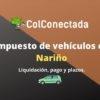 Liquidación del impuesto de vehículos en Nariño 2020