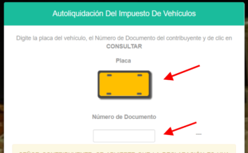 Impuesto vehicular en Cauca 2019