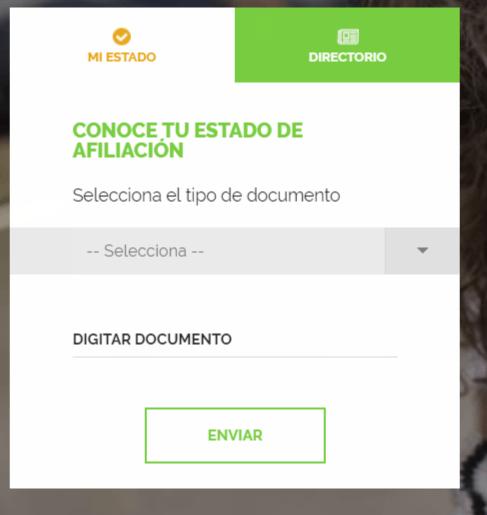 Coosalud servicios en línea