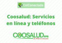 Coosalud: Servicios en línea y teléfonos