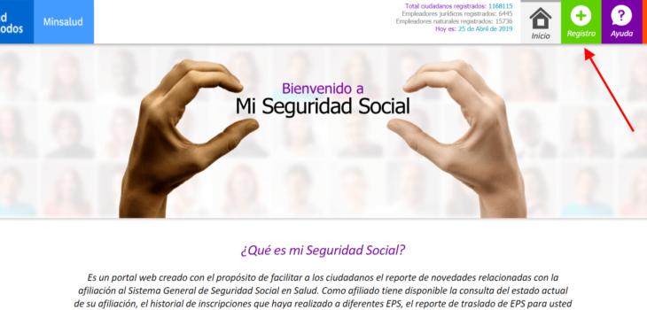 Mi Seguridad Social Ver Reporte de novedades en salud