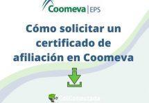 Cómo solicitar un certificado de afiliación en Coomeva