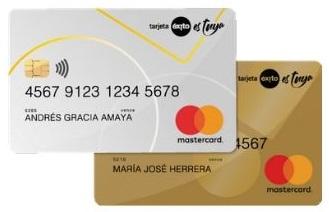 tarjeta éxito mastercard