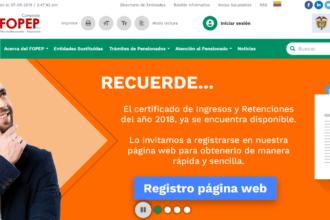 Fopep: Calendarios de pagos y consultas en línea 2