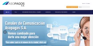 Pagar planilla por internet con Asopagos