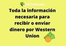 Western Union: Tarifas y consulta de giros por Internet
