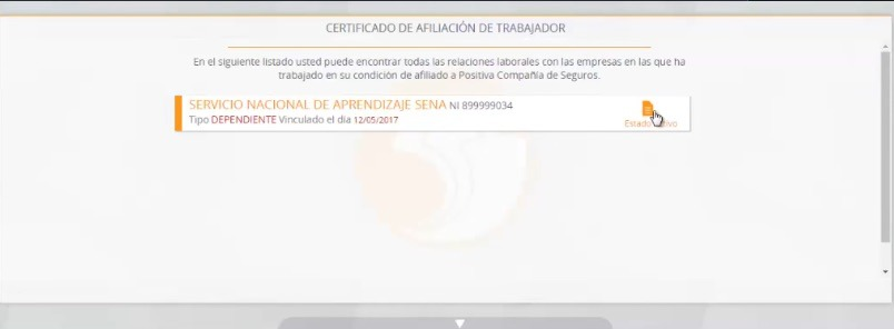 Positiva ARL: Servicios y consultas en línea - Teléfonos 4