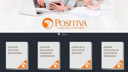 Positiva ARL: Servicios y consultas en línea - Teléfonos 3