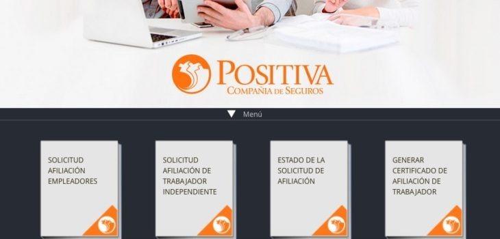 Positiva ARL: Servicios y consultas en línea - Teléfonos 10