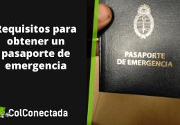 Cómo solicitar el pasaporte de emergencia